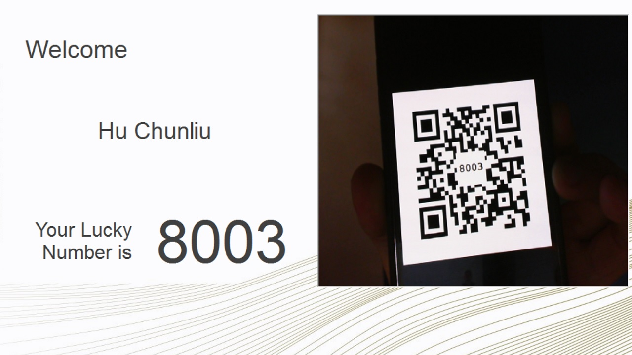 Barcode Or Qr Code Event Registration And Electronic Lucky Draw System